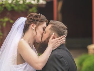 The wedding of Carly and Jake 1