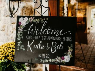 The wedding of Kaila and Bob 1