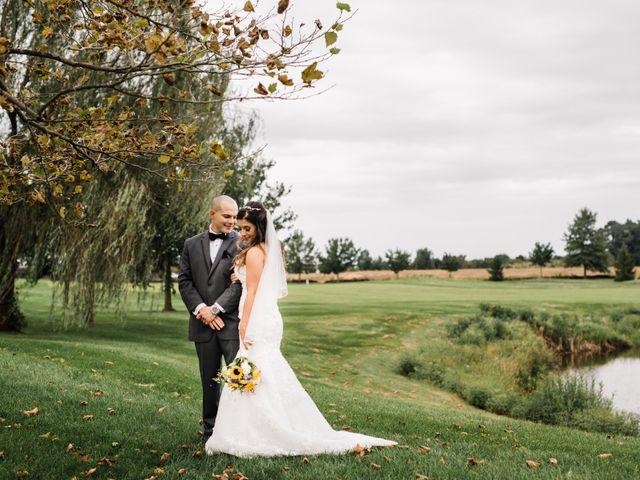 The wedding of Christina and Ian