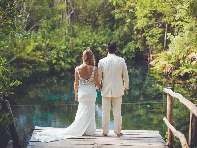 Arturo and Sara's Wedding in Tulum, Mexico 3