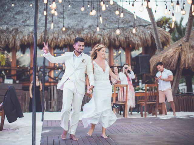 Arturo and Sara's Wedding in Tulum, Mexico 4