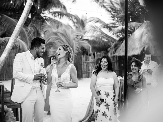Arturo and Sara's Wedding in Tulum, Mexico 12
