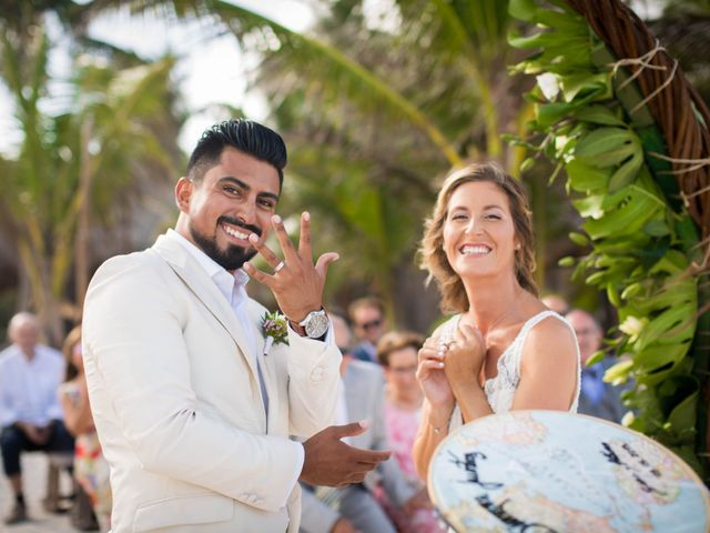 Arturo and Sara's Wedding in Tulum, Mexico 6