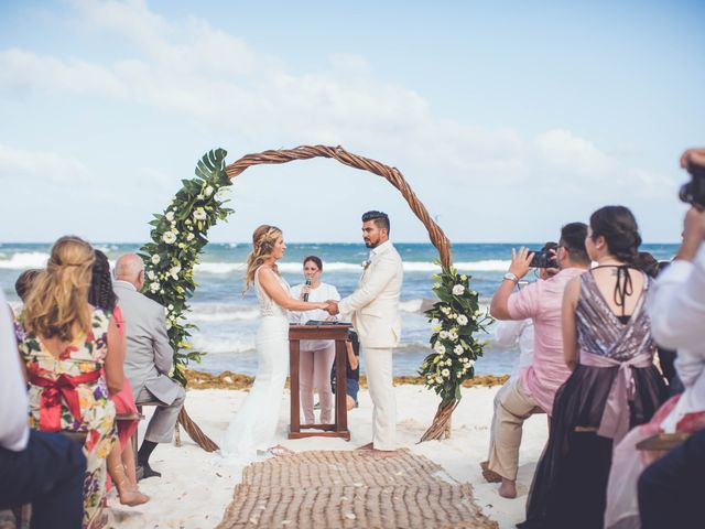 Arturo and Sara's Wedding in Tulum, Mexico 15