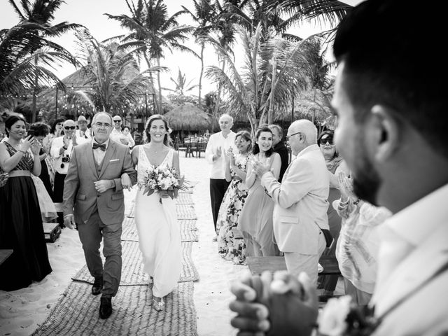 Arturo and Sara's Wedding in Tulum, Mexico 16