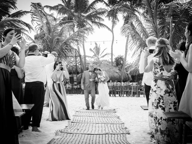 Arturo and Sara's Wedding in Tulum, Mexico 17