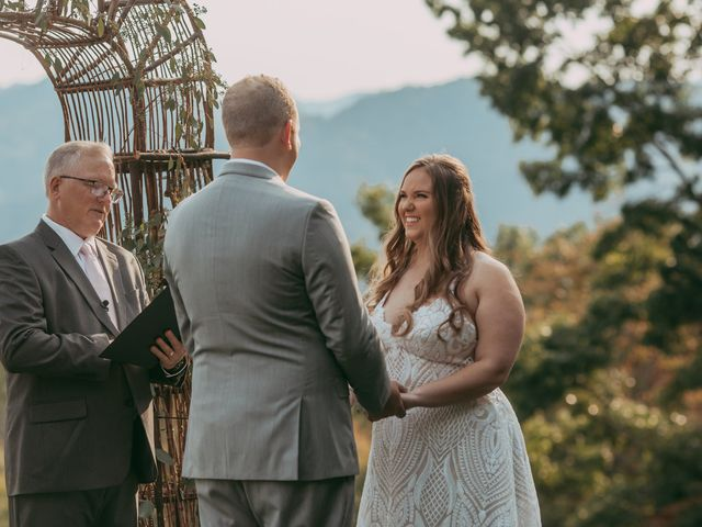 Savannah and Patrick's Wedding in Asheville, North Carolina 52
