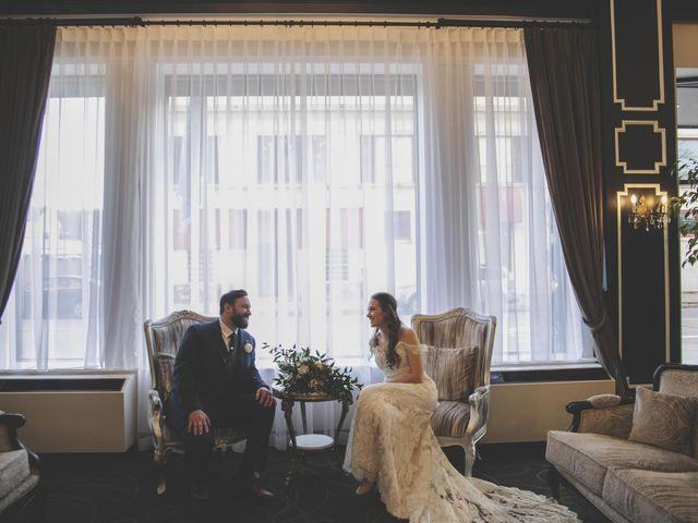 The wedding of Kasey and Matthew