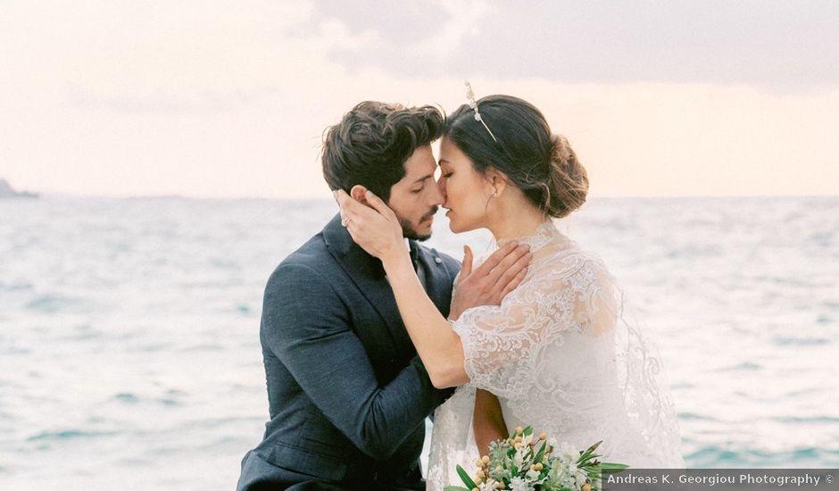 Nikolas and Sofia's Wedding in Mykonos, Greece
