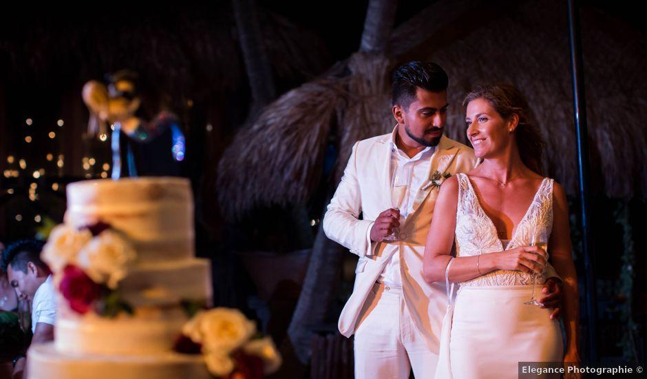 Arturo and Sara's Wedding in Tulum, Mexico