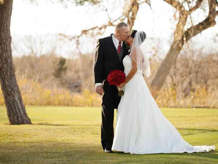 The wedding of Wendy and Jeff