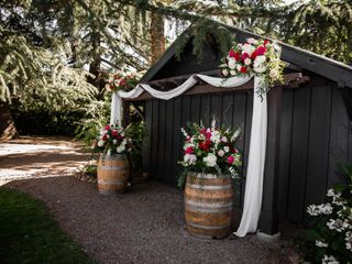 The wedding of Curtis and Kahla 1