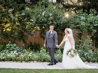 The wedding of Curtis and Kahla