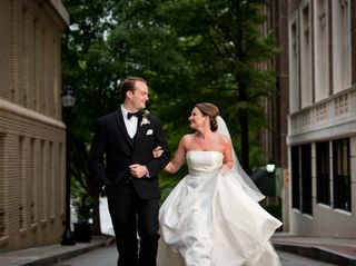The wedding of Nikki and Dan
