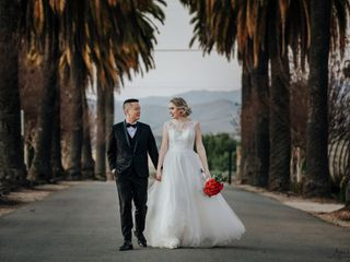 The wedding of Nam and Barbara