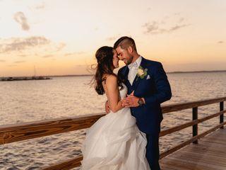 The wedding of Hannah and Trey