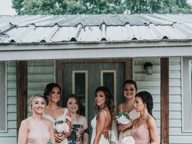 Troy and Hayley's Wedding in Conroe, Texas 9