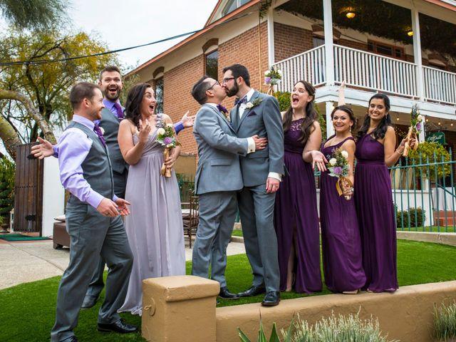 Marcus and Patrick's Wedding in Tucson, Arizona 1