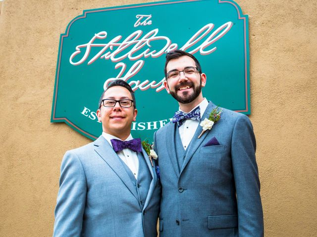 The wedding of Patrick and Marcus