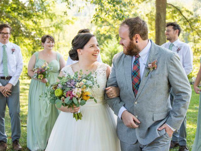 Seth and Gina's Wedding in Leicester, North Carolina 2