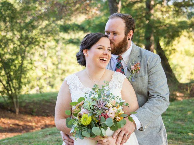 Seth and Gina's Wedding in Leicester, North Carolina 1