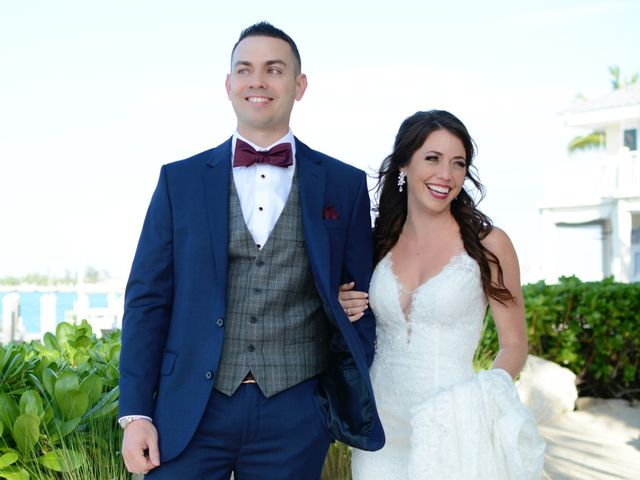 Tom and Lindsey's Wedding in Key West, Florida 8