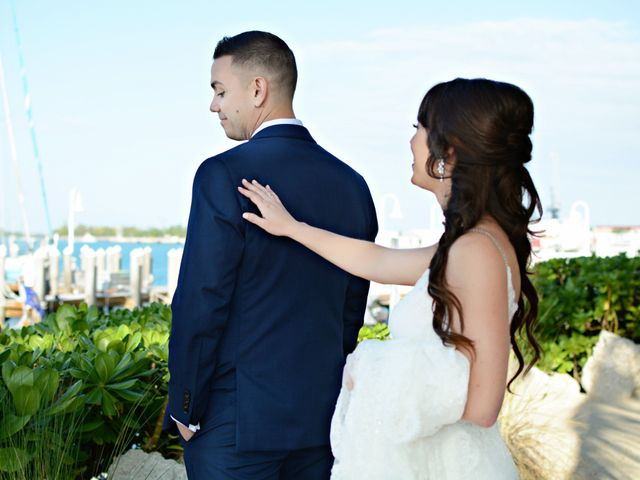 Tom and Lindsey's Wedding in Key West, Florida 9