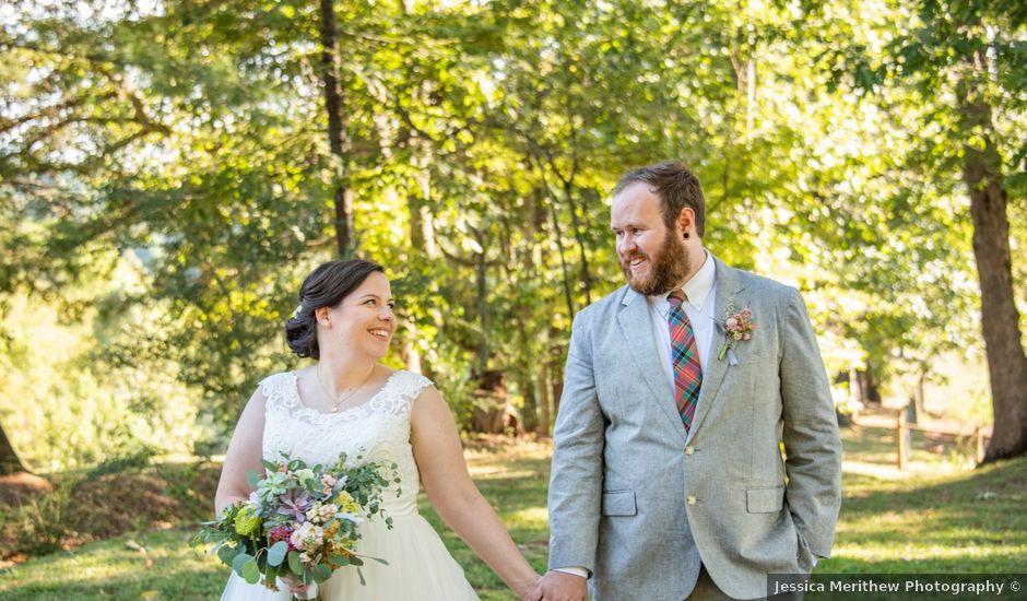 Seth and Gina's Wedding in Leicester, North Carolina