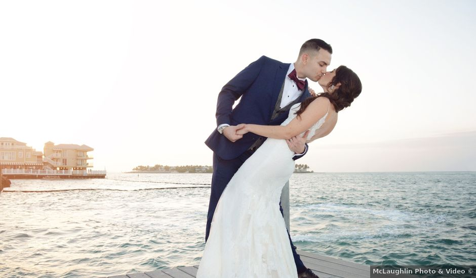 Tom and Lindsey's Wedding in Key West, Florida