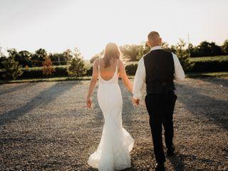 The wedding of Jill and Matt
