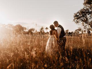 The wedding of Shane and Kathrine