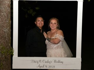 The wedding of Daisy and Carley 1