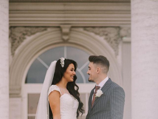 Paul and Bianca's Wedding in Detroit, Michigan 12