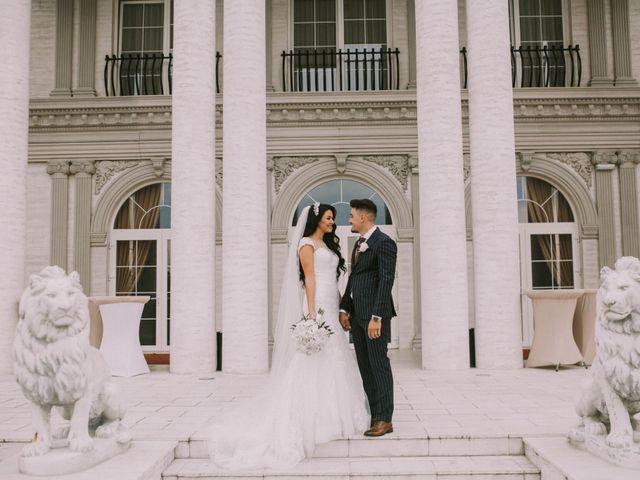 Paul and Bianca's Wedding in Detroit, Michigan 43