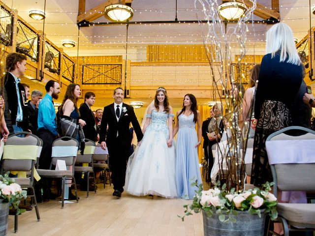 Alec and Amanda's Wedding in Silverthorne, Colorado 17