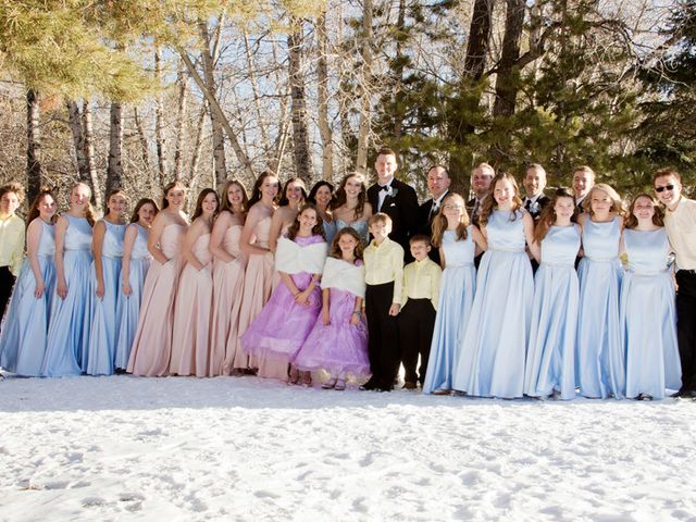 Alec and Amanda's Wedding in Silverthorne, Colorado 18