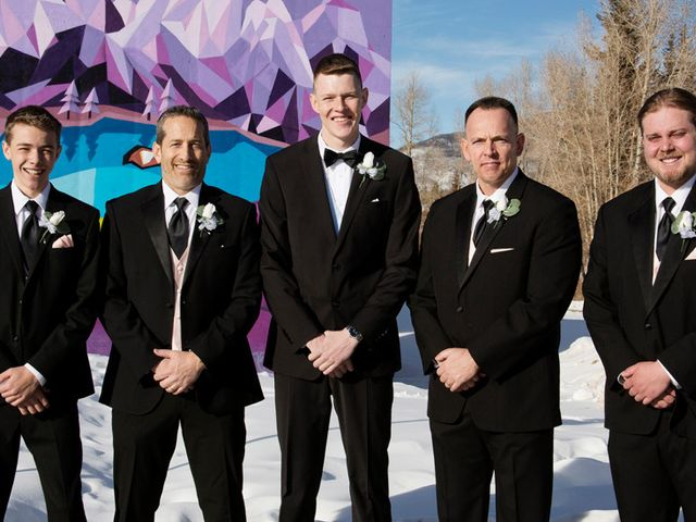 Alec and Amanda's Wedding in Silverthorne, Colorado 20