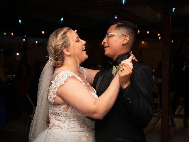 Carley and Daisy's Wedding in Alvarado, Texas 4