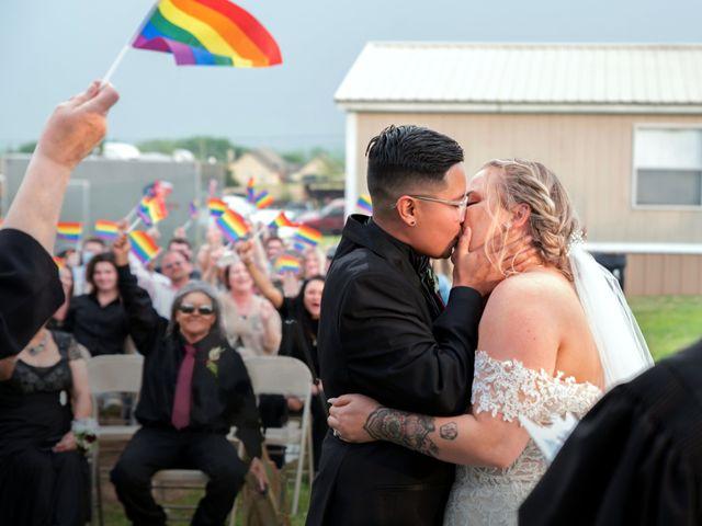 Carley and Daisy's Wedding in Alvarado, Texas 6