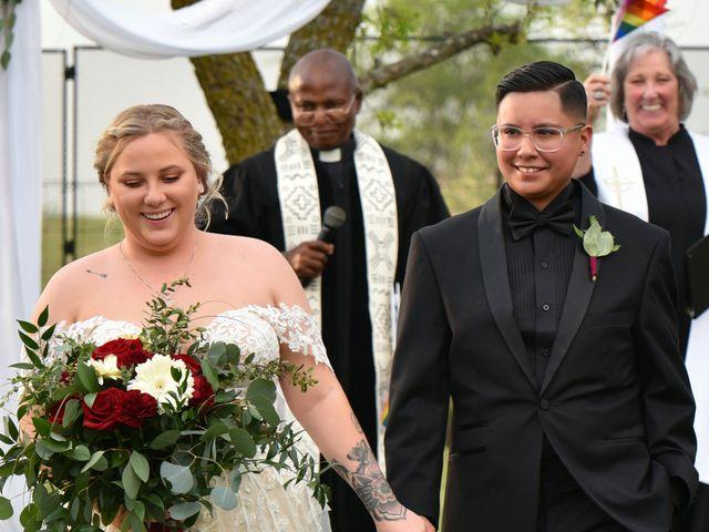 Carley and Daisy's Wedding in Alvarado, Texas 11