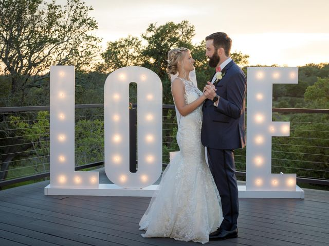 Brandon and Nikki's Wedding in Georgetown, Texas 40