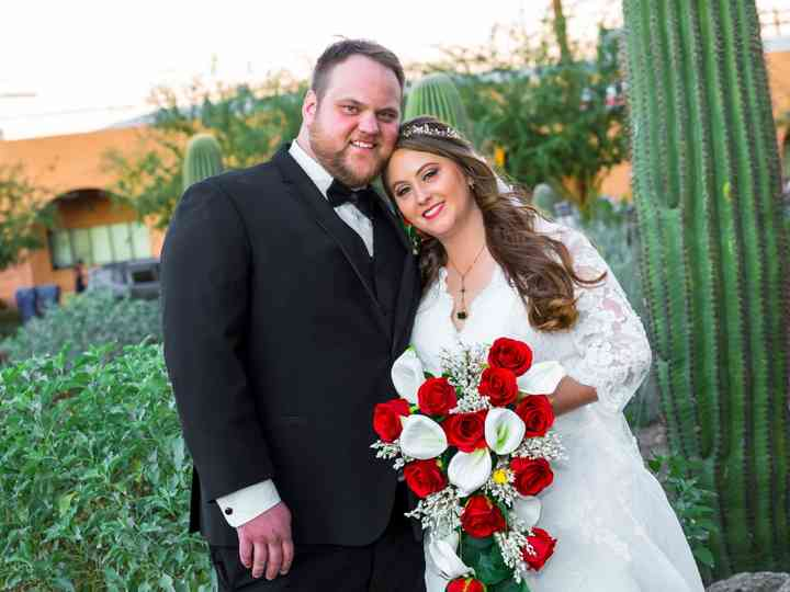 The wedding of Deanna and Christopher