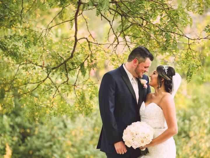 The wedding of Kaiti and Brett