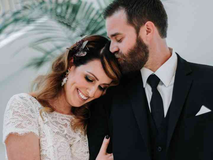 The wedding of Jennifer Scott and Justin Powers