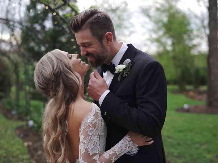 The wedding of Aimee and Luke