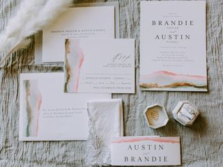 The wedding of Brandie and Austin 3