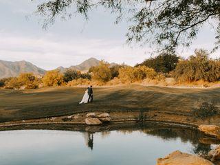 Austin and Brandie's Wedding in Scottsdale, Arizona 3