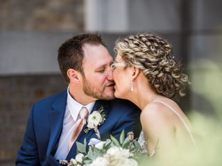 The wedding of Kelly and Robby