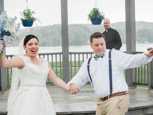 The wedding of Alyson and Kurt