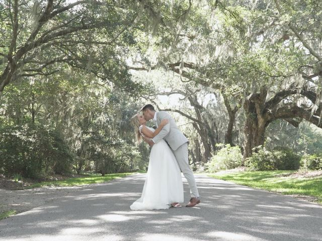 The wedding of Ashley and Michael